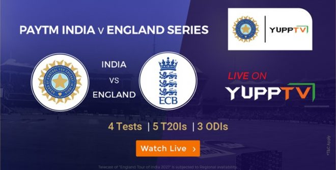 Cricket Fever- Paytm India vs England Series to Commence on the 5th of February